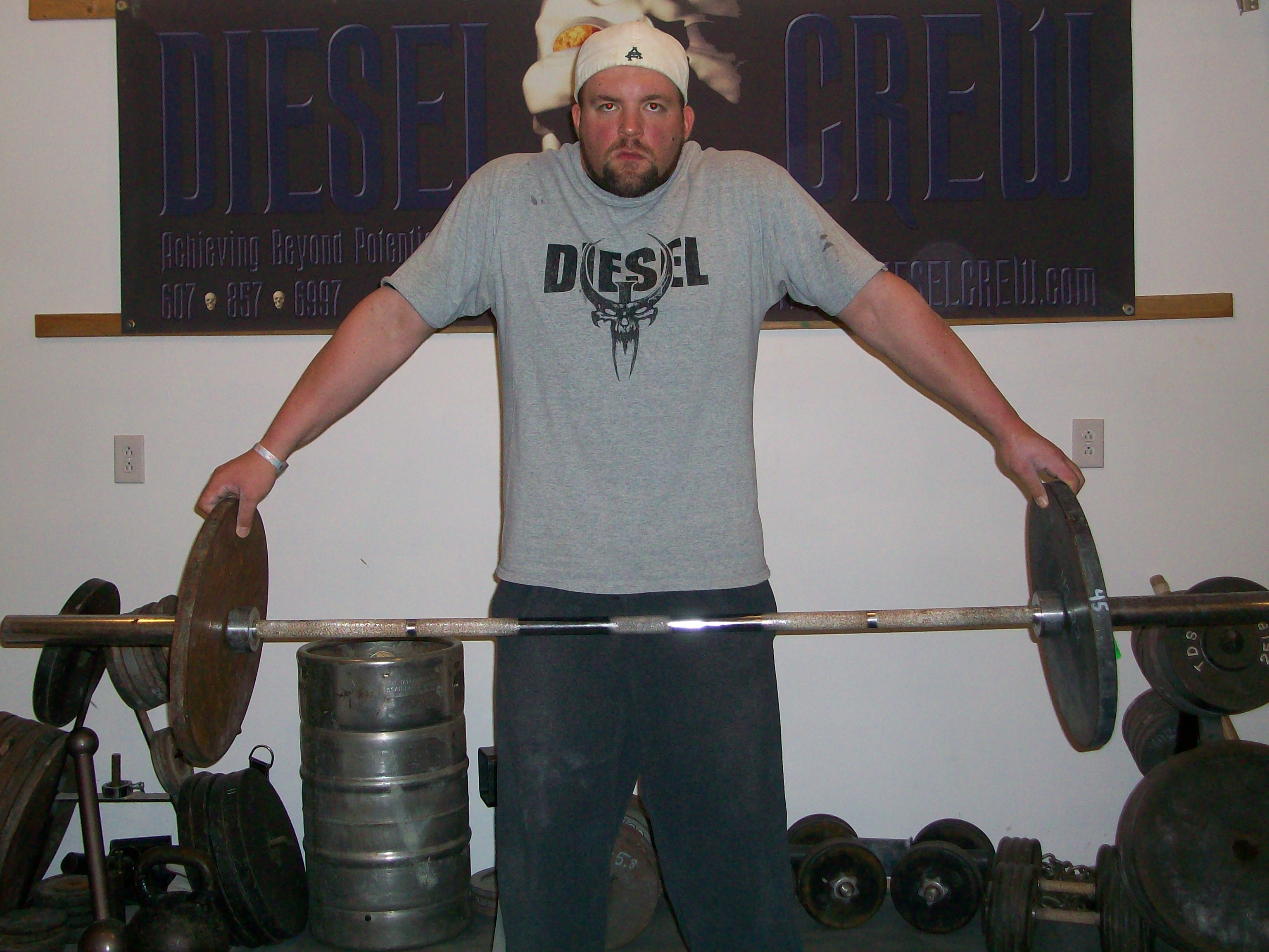 American Fitness Model And Actor Greg Plitt